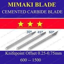 5x HQ 30° Cemented Carbide Blades for Mimaki Cutting Cutter Vinyl Plotter