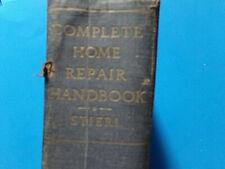 Complete Home Repair Handbook 1951 Stieri home improvement information vintage