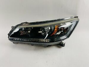 2013 2014 2015 HONDA ACCORD SEDAN HEADLIGHT LEFT DRIVER HALOGEN OEM 13 14 15