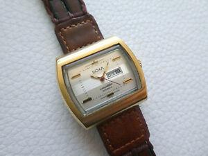 Beautiful Vintage DOXA Conquistador Automatic Women's dress watch from 1970's!