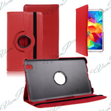 Etui Housse Rotatif Rotation 360° ROUGE Samsung Galaxy Tab 4 8.0 SM-T331 3G