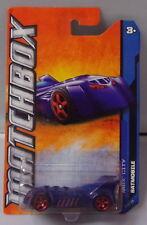 KKar Matchbox -  2012 BP 1-120 - MB025 Batmobile - Blue