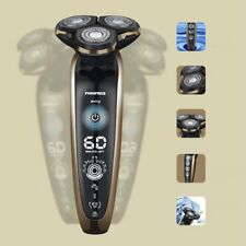 Washable Electric Shaver Triple Blade Intelligent Shaving Floating Razors F5
