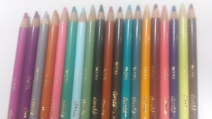 19pcs Conte Pastel Pencils assorted  Made in France  Brand New