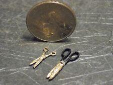 Dollhouse Miniature Scissors Set of 2   1:12 inch scale Z25fj Dollys Gallery