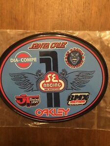 Old School OVAL BMX Number plate by OGK JAPAN -SE Racing Santa Cruz Big Ripper