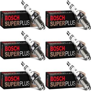 6 Bosch Platinum Spark Plugs For 2005-2009 CADILLAC CTS V6-3.6L