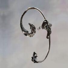 MERMAID HERMETIC SIREN MELUSINE LAMIA EAR CUFF CLIP-ON EARRINGS