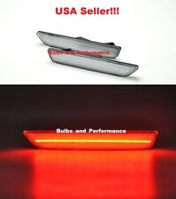 2010 2011 2012 2013 2014 Ford Mustang Clear Lens Red LED Rear Side Markers