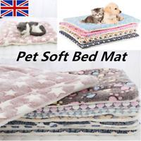 Cute Dog Cat Pet Soft Bed Mat Pillow Cushion Mattress Small Medium Large S-XL