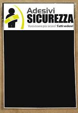 3M 580 scotchlite reflective vinyl tape black(reflects white) 200mm x 300mm 2 px