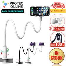 Mobile Phone Flexible 360° Clip Mount Stand Holder Bed Desktop Bracket Clamp