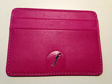 Filofax Boston front small wallet pink