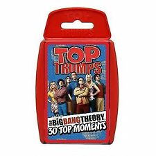 Top TRUMPS Many Different Versions Available - 1 Supplied The Big Bang Theory