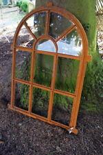 Eisenfenster , Stichbogenfenster Antik , Stallfenster , Bogen Fenster für Garten