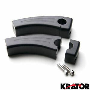 Krator 4.5 Black Motorcycle Handlebar Pullback Risers For Harley Davidson XL 883 Hugger Sportster