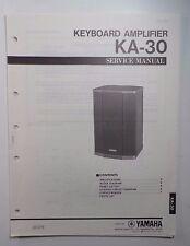 Original Yamaha KA-30 Keyboard Amplifier SERVICE Manual