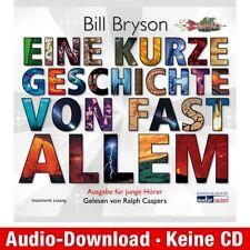 Hörspiel-Download (MP3) ★ Bill Bryson: Eine kurze Geschichte von fast allem