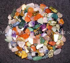 100 x Mixed Tumblestone SECONDS 10mm-30mm Beautiful Crystal Gemstone
