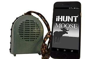 iHunt XSB Moose Call & Bluetooth Speaker Combo, EDIHXSBM, FREE App with 60 +