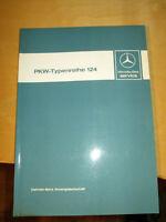 Mercedes Werkstatthandbuch W 124 Modelle 1.Serie - 200 bis 300 E- 200D bis 300 D