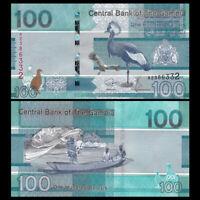 Gambia 100 Dalasis, 2019, P-New, A prefix, UNC