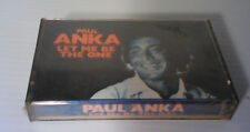 Paul Anka - Let Me Be The One - Cassette - SEALED