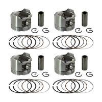 4x Piston Rings Kit For Honda CBR250 CBR250RR CBR22 KAZ MC22 Bore Size 49mm +50