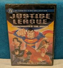 Justice League - Star Crossed: The Movie (Dvd, 2004) Factory Sealed