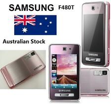 New Sealed Samsung F480T Coral Pink Smart Phone MP3 MP4 Radio Bluetooth Camera
