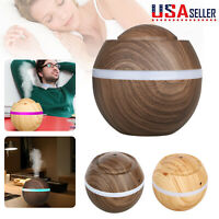 Air Aroma Essential Oil Diffuser LED Ultrasonic Aromatherapy Humidifier Purifier