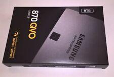 """Samsung 870 QVO 8TB 2,5"""" SATA III SSD interno (MZ-77Q8T0BW)"""
