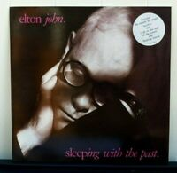 Elton John. Sleeping With The Past. UK vinyl 10 track LP with Featuring Sticker.