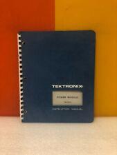 Tektronix Power Module Tm 503 Instruction Manual