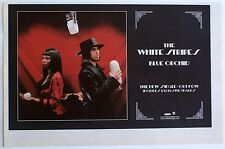 The White Stripes 2005 original Advert Blue Orchid