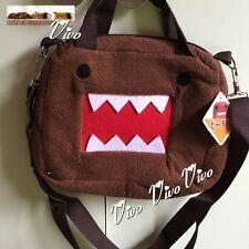 New Domo Kun Small Bag Cute Gift Brown Plush Shoulder Bag Girl or Boy`s Gift 2#