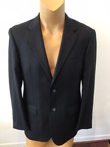 Mens Black Pierre Cardin Suit Size 100R /40R Style Antoine ..