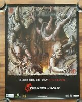 Gears of War Emergence Day Promo Poster X-Box 360 Epic Games 2006 E3