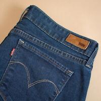Levi Demi Curve Jeans Bootcut Zip Blue Vintage Women's (LabelW31) W 31 L 32