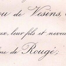 Charles De Levezou De Vesins 1872 Jacqueline De Rougé