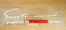 ☆New☆ Headlight Eyebrow Car Stickers Decals Graphics Vinyl For Mazda (White)