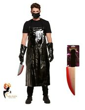 Adult SCARY BUTCHER COSTUME Horror Halloween Fancy Dress Men's Outfit Accessory