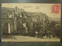 cpa 46 saint cirq lapopie eglise et vallee du lot