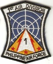 Philippines Air Force PAF 1st Air Division Unit Patch 3.75 X 2.75 inches