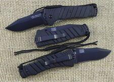 Couteau Ontario Joe Pardue Utilitac II Military Acier AUS-8 Manche Zytel ON8906