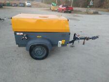 2013 Atlas Copco Xas90 Diesel Air Compressor 90 Cfm Diesel Towable