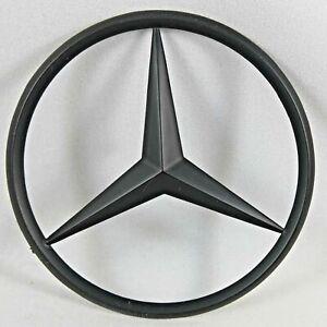 New fits Mercedes Benz Matt Black Star Trunk Emblem Badge 90mm new