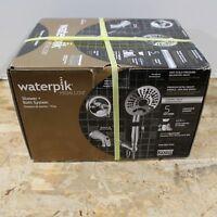 Waterpik Medallion Chrome Handheld Shower + Valve + Handle + Tub Spout NEW