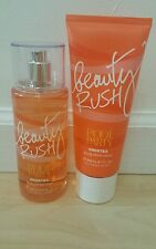 VICTORIAS SECRET BEAUTY RUSH POOL PARTY FROSTEA MIST AND BODY LOTION
