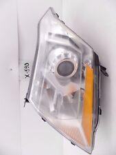 USED OEM HEAD LIGHT HEADLIGHT LAMP HEADLAMP CADILLAC SRX HALOGEN 10-13 chip mnt